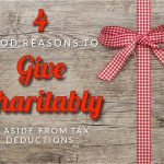 Buehrer's Four Good Reasons To Give Charitably, Aside From Tax Deductions